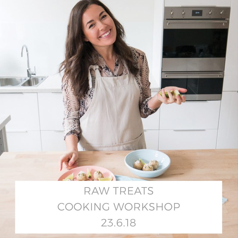 georgie raw treats class