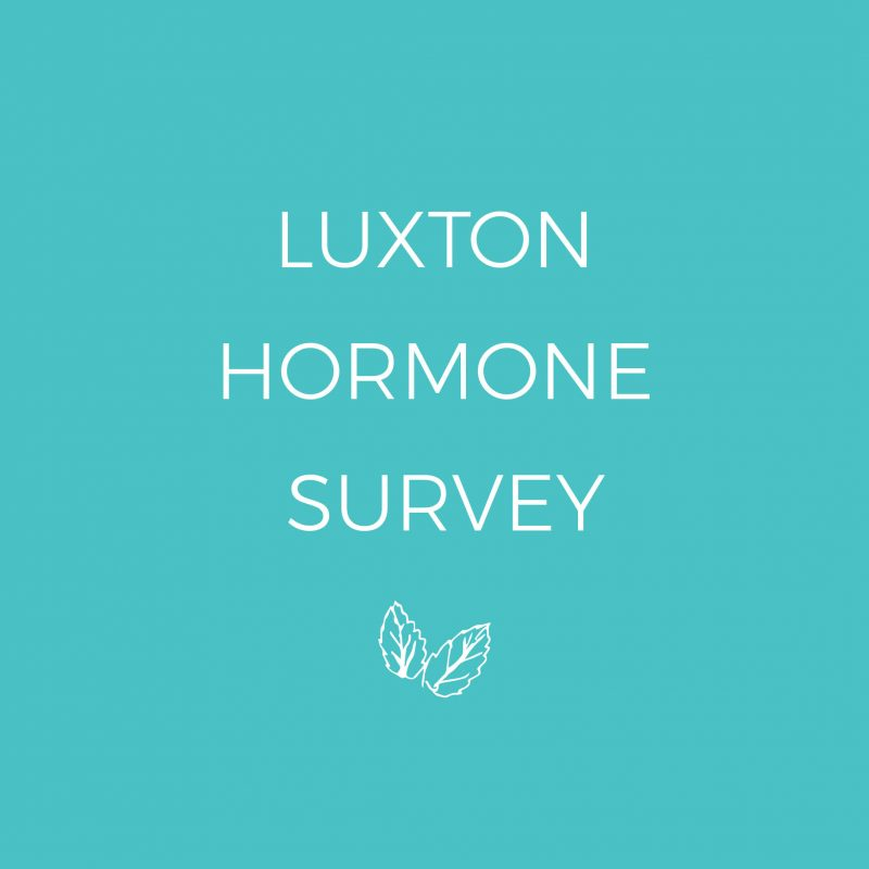 LUXTON HORMONE SURVEY SHOP IMAGE