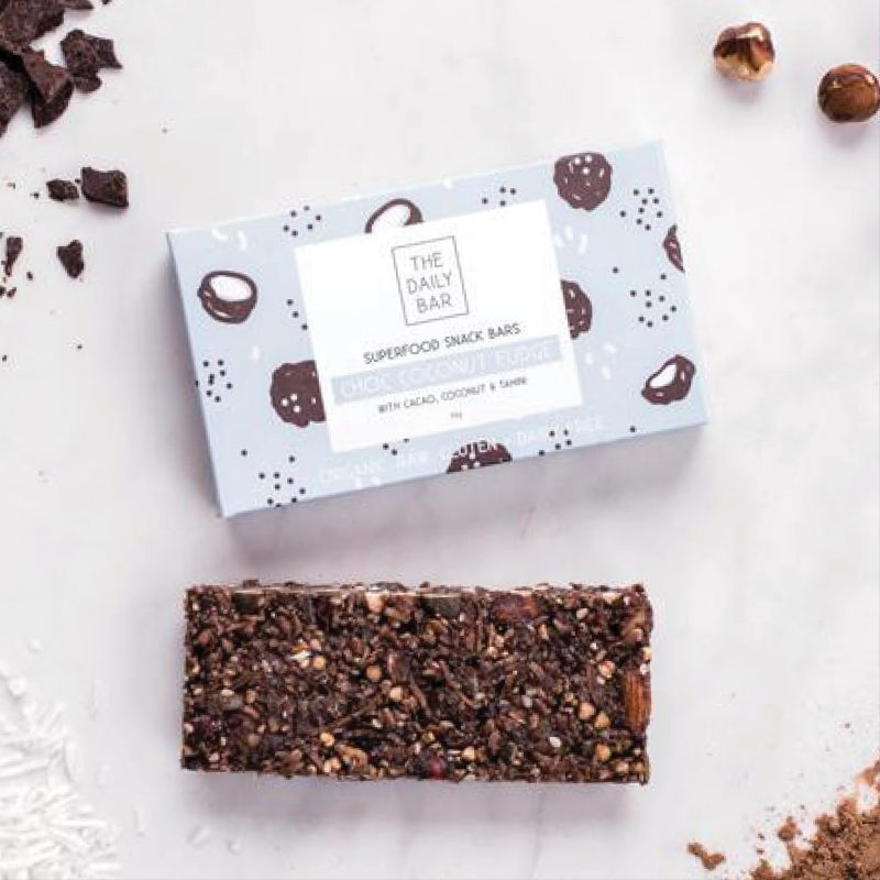 The daily bar choc coconut