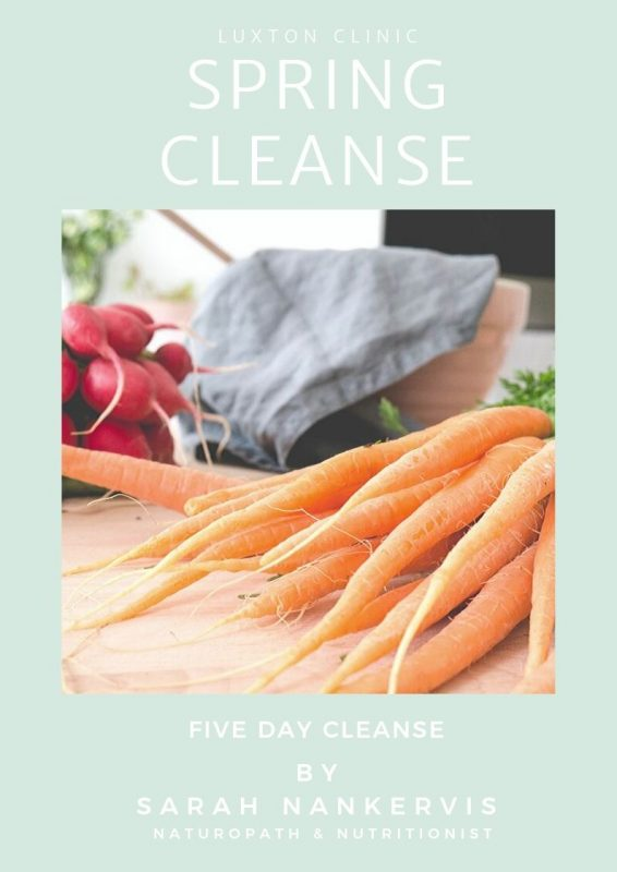 Luxton 5 day cleanse Front Cover